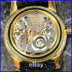 Vintage 1960s KING SEIKO 44-2000 AGF 14K GOLD FILLED Hand-Winding Watch #199