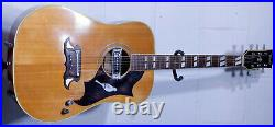 Vintage 1960s Terada FW 815 GIBSON COPY dove JAPAN western ACOUSTIC guitar