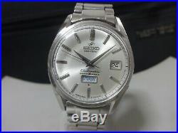 Vintage 1964-65 SEIKO Automatic watch Seikomatic Weekdater 35J 6218-8970
