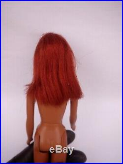 Vintage 1966 AA black Francie Barbie Doll Redhead ORIGINAL 1st Edition 1100