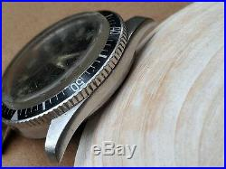 Vintage 1969 Bulova Caravelle 666 Feet Divers Watch withDeep Patina, All SS Case