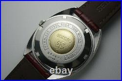 Vintage 1970 JAPAN GRAND SEIKO WEEKDATER 5646-7000 25Jewels Automatic