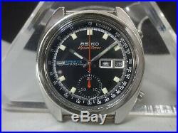 Vintage 1970 SEIKO Automatic watch 5 Sports Speed Timer 21J 6139-6011