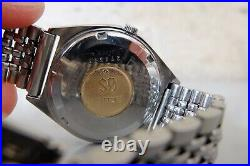 Vintage 1970's JAPAN GRAND SEIKO 5646-7010 Hi-Beat SS 36mm Automatic WEEKDATER