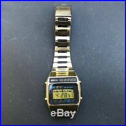 Vintage 1970's SEIKO A159-5019-G LCD Quartz Japan A 36mm watch- New Battery