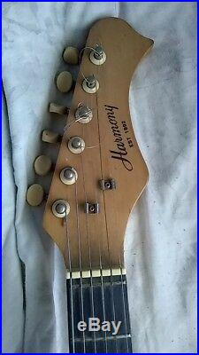 Vintage 1970s Harmony H-802 Electric Guitar Teisco Japan GUITAR ONLY
