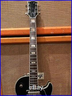 Vintage 1970s Jedson Les Paul MIJ Black Beauty Electric Guitar 8.1lbs with OHSC