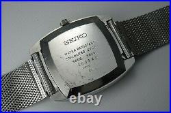 Vintage 1972 JAPAN SEIKO LORD MATIC WEEKDATER 5606-5040 25Jewels Automatic