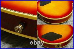 Vintage 1977 made Greco EG-500C LP Custom U-1000 Pickups Cherry SB Made in Japan