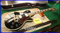 Vintage 1978 Ibanez PF-300 Electric Guitar Black Up-graded w' DiMarzio's Super