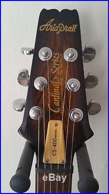 Vintage 1981 Aria Pro II CS-400 Gibson SG Type Electric Guitar Matsumoku Japan