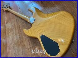 Vintage 1987 Fender Jazz Bass Jbr-80 Active Preamp, Ash, Japan Mij Fujigen
