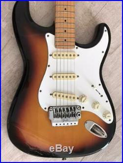 Vintage 1987 Fender Stratocaster in sunburst E643375