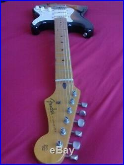 Vintage 1987 Japanese Fender'57 Reissue Stratocaster 2 Tone Sunburst Fujigen