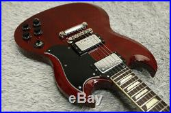 Vintage 1988 made Greco SG'63 reissue SS63-60 Mahogany Body Made in Japan