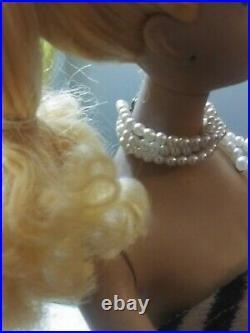 Vintage #3 Ponytail Blonde Barbie Crayon Smell Blue Eyelinerc
