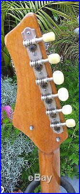 Vintage 60's Rare Swinga By Kingston/teisco Ez Project Guitar Mij