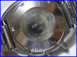Vintage 70's Seiko Chronograph 6138-0011 Ufo 6684