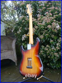 Vintage 93 MIJ Japan strat Stratocaster Fender guitar sunburst 62 Japanese made