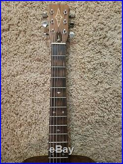 Vintage Alvarez 5059 Herringbone Dreadnought Acoustic guitar Martin Copy 1976
