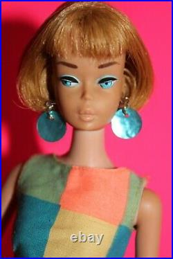 Vintage Barbie American Girl & 1777 Pretty Wild! 1967 HTF 60er