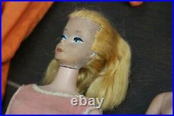 Vintage Barbie Dolls Lot Midge Ken Skipper 1960 1963 1958 Japan Case Clothing