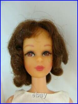 Vintage Barbie Francie TNT legs bend brown eyes in Original Francie Outfit 1966