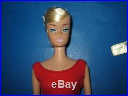 Vintage Barbie Platinum Swirl In Midge Box