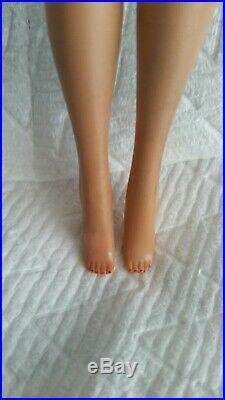 Vintage Barbie Ponytail #3/4 Blonde Japan#850NudeFragrant Crayon Body L@@K