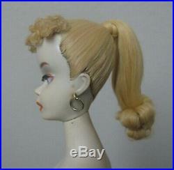 Vintage Blonde Ponytail Barbie Doll #3 Box