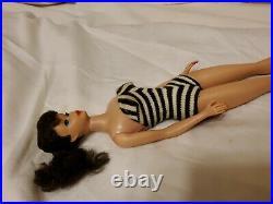 Vintage Brunette Ponytail Barbie Doll Japan