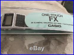 Vintage Casio CFX-400 Scientific Calculator Watch (New in Box) Rare