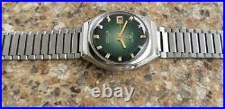 Vintage Citizen CQ Crystron Quartz 8610 November 1975 JDM