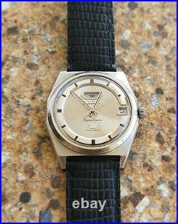 Vintage Citizen Crystal Seven 23 Jewels Automatic OCTOBER 1967 JDM KANJI