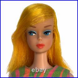 Vintage Color Magic Barbie Doll FIRST ISSUE Blonde/ Scarlet Flame Stripes Away