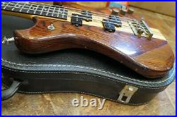 Vintage Early 1980s Westone Thunder II Bass Guitar with case
