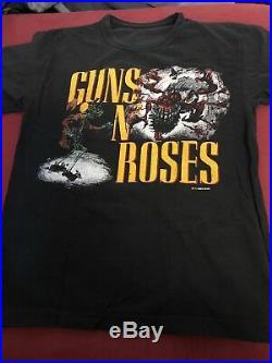 Vintage Guns N Roses Appetite For Destruction Japan Tour Shirt Banned Rape Scene