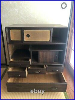 Vintage Japanese Furniture Tea cabinet CHA-TANSU