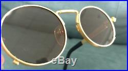 Vintage Jean Paul Gaultier 56-8171 Gold Sunglasses authentic vintage