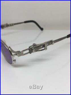 Vintage Jean Paul Gaultier JPG 56-0020 Sunglasses C. Silver Quavo Huncho 1990s