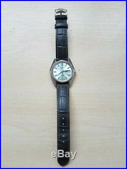 Vintage King Seiko 5626-7000 Automatic Watch with rare green dial