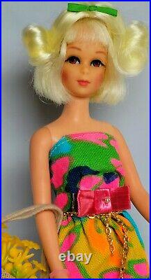 Vintage Mattel Barbie Francie Htf Platinum Mod Hair Happenin's #1122 Beautiful