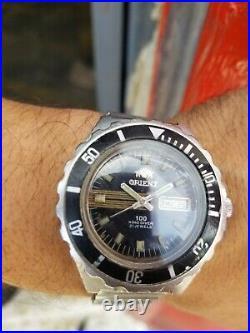 Vintage Orient 100 King Diver Watch CW