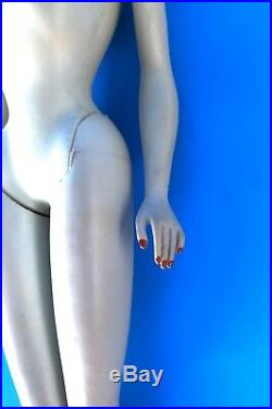 Vintage Ponytail Barbie #3 Brunette Blue Eyeliner-beautiful