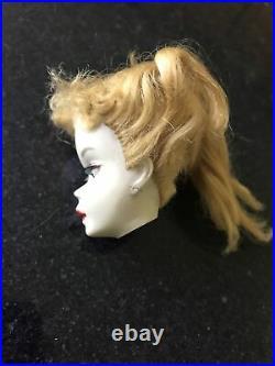 Vintage Ponytail Barbie Doll 3. Mattel (Head TLC)