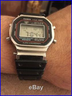 Vintage Rare Casio DW5000 Model 240 G. Shock Resistant Made In Japan