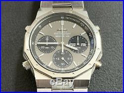 Vintage SEIKO 7A38 7029 Royal Oak Quartz Chronograph