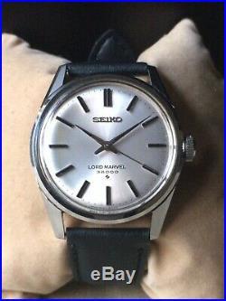 Vintage SEIKO Hand-Winding Watch/ LORD MARVEL 5740-8000 SS 23J 1975 36000bph