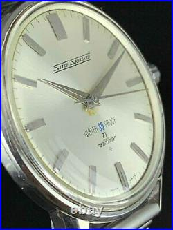 Vintage SEIKO SKYLINER 14092 Hand Winding 21 JEWELS Wrist Watch Japan
