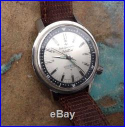 Vintage SEIKO Seikomatic SILVER WAVE 30. 1964 Japanese Iconic Early Divers Watch